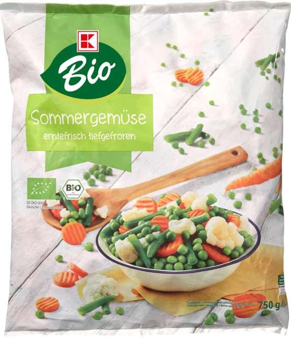 Abbildung des Sortimentsartikels K-Bio Sommer-Gemüse 750g