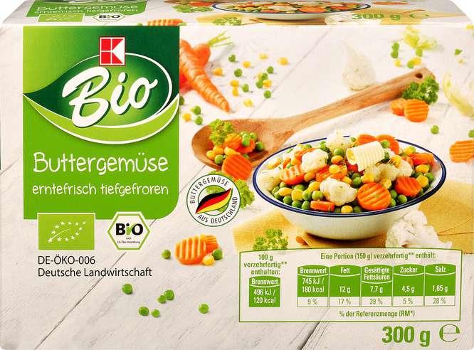 Abbildung des Sortimentsartikels K-Bio Buttergemüse 300g