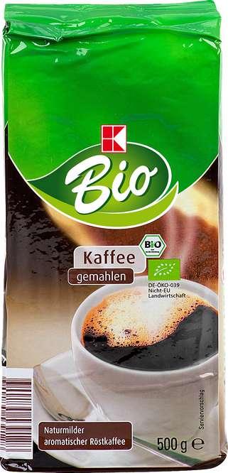 Abbildung des Sortimentsartikels B Kaffee gemahlen 500g