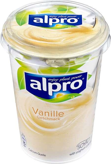 Abbildung des Sortimentsartikels Alpro Joghurt Vanille 500g