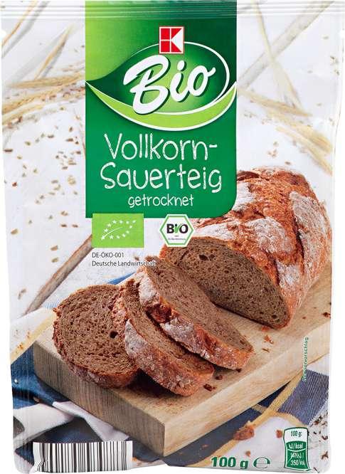 Abbildung des Sortimentsartikels K-Bio Vollkorn-Sauerteig 100g