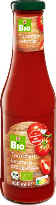 Abbildung des Sortimentsartikels K-Bio Tomatenketchup 450ml