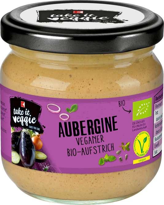 Abbildung des Sortimentsartikels K-Take it Veggie Aufstrich Aubergine 180g