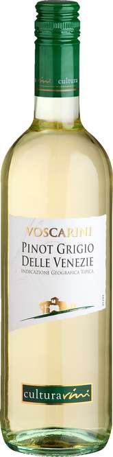 Abbildung des Sortimentsartikels Cultura Vini Voscarini Pinot Grigio delle Venezie 0,75l