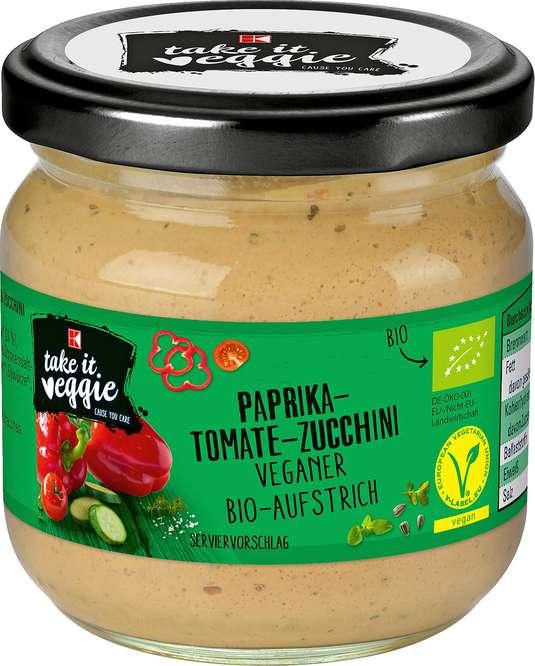 Abbildung des Sortimentsartikels K-Take it Veggie Paprika-Tomate-Zucchini 180g