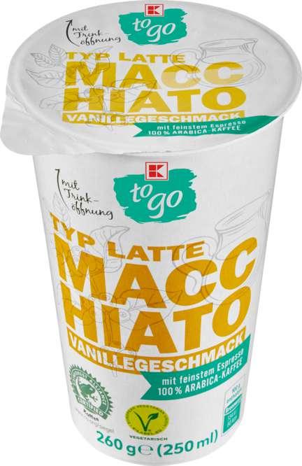 Abbildung des Sortimentsartikels K-Classic Cafe Allegro Latte Macchiato Vanille 250ml