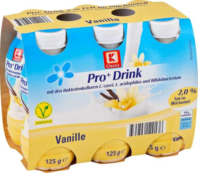 Abbildung des Sortimentsartikels K-Classic Pro+Drink Vanille 6x125g