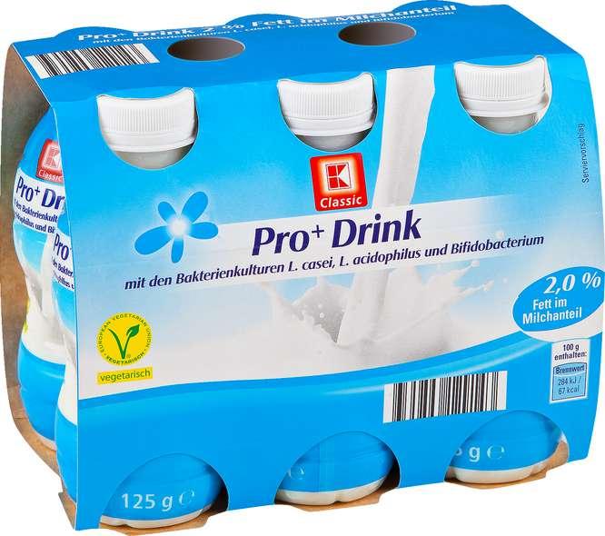 Abbildung des Sortimentsartikels K-Classic Pro+ Drink 2% 6x125g