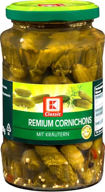 Abbildung des Sortimentsartikels K-Classic Premium Cornichons 370ml