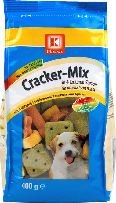 Abbildung des Sortimentsartikels K-Classic Cracker-Mix für Hunde 400g