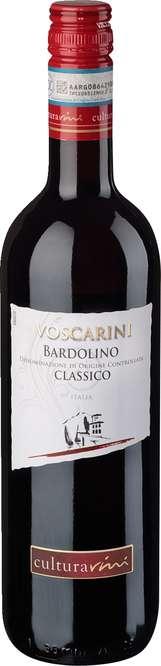 Abbildung des Sortimentsartikels Cultura Vini Voscarini Bardolino Classico 0,75l