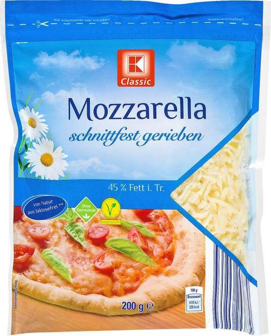 Abbildung des Sortimentsartikels K-Classic Mozzarella 200g