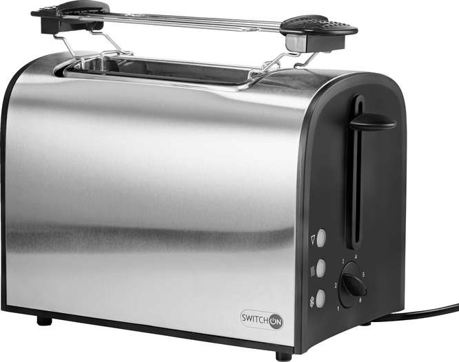 Abbildung des Sortimentsartikels Switch On Toaster,  silber