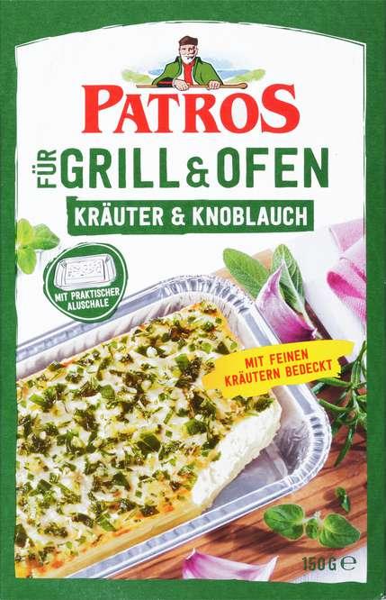 Abbildung des Sortimentsartikels Patros für Grill und Ofen Mediterrane Kräuter & Knoblauch 150g