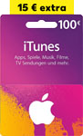 Abbildung des Angebots 100-Euro-iTunes- Geschenkkarte