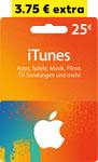 Abbildung des Angebots 25-Euro-iTunes- Geschenkkarte