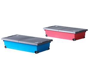 Abbildung des Angebots Rollenbox mit Deckel Größe ca. 80 x 40 x 17 cm