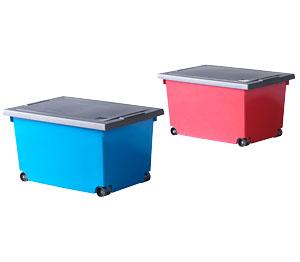 Abbildung des Angebots Rollenbox mit Deckel Größe ca. 60 x 40 x 33 cm