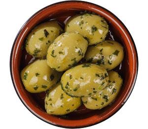 Abbildung des Angebots grüne Oliven