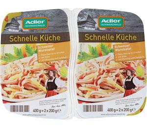 Abbildung des Angebots Adler Schnelle Küche Wurstsalat