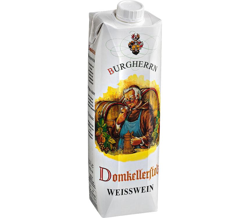 Abbildung des Angebots Burgherrn Domkellerstolz Weiß- oder Rotwein