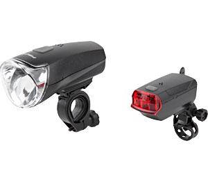 Abbildung des Angebots LED-Fahrradleuchten-Set