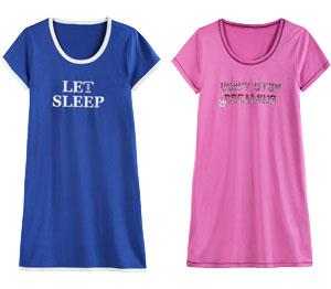 Abbildung des Angebots Damen-Sleepshirt