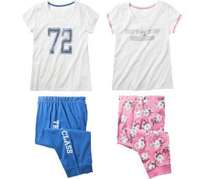 Abbildung des Angebots Damen-Shorty-Pyjama