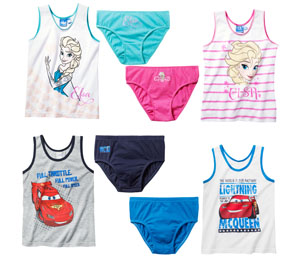 Abbildung des Angebots Disney Mädchen- oder Jungen- Unterwäsche-Set
