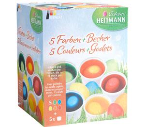 Abbildung des Angebots HEITMANN Eierfarben-Set
