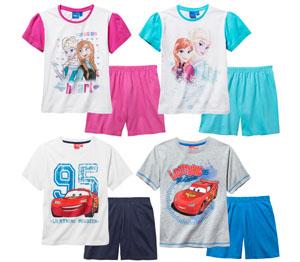 Abbildung des Angebots Disney Mädchen- oder Jungen- Shorty-Pyjama