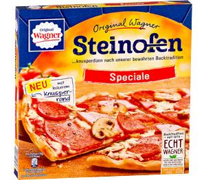 Abbildung des Angebots Original Wagner Steinofen-Pizza