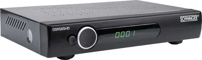 HDTV-Sat-Receiver Schwaiger DSR585HD