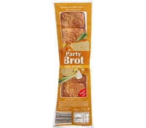 Abbildung des Angebots Aldente Partybrot Käse & Zwiebel