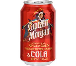 Abbildung des Angebots Captain Morgan & Cola oder Gordon's Dry Gin & Tonic