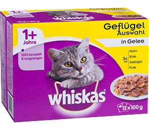 Abbildung des Angebots Whiskas Katzennahrung Multipack