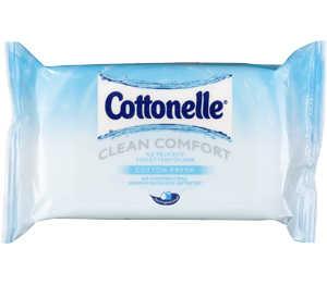 Abbildung des Angebots Cottonelle Feuchte Toilettentücher