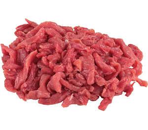 Abbildung des Angebots  Rindergeschnetzeltes natur, vom Simmentaler Jungbullen