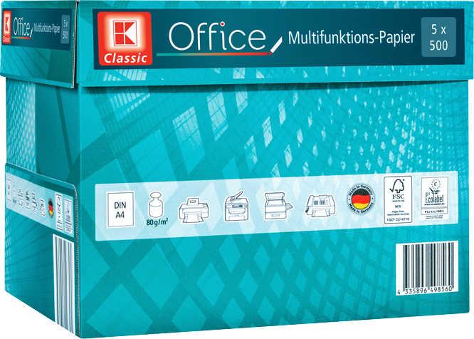 Multifunktions-Papier DIN A4 5 x 500 Blatt
