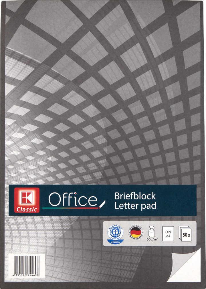 Briefblock DIN A4