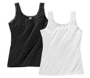Abbildung des Angebots Damen-Hemdchen mit Spitze