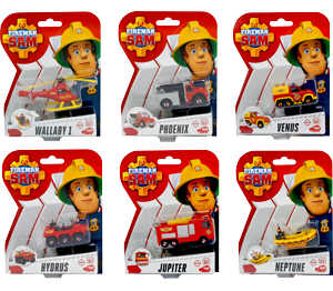 Abbildung des Angebots Feuerwehrmann Sam Die-Cast-Einsatzfahrzeug