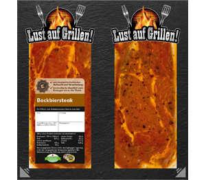 Abbildung des Angebots K-Purland Bockbiersteak vom Schweinenacken/-kamm