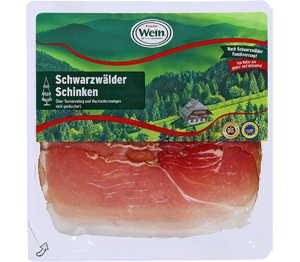 Abbildung des Angebots Wein Schwarzwälder Schinken
