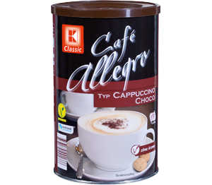 Abbildung des Angebots K-Classic Café Allegro Typ Cappucchino Choco