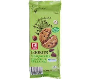 Abbildung des Angebots K-Classic Cookies Nougatelli