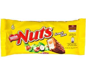 Abbildung des Angebots Nestlé Nuts oder Kitkat