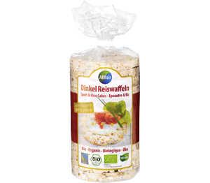 Abbildung des Angebots Allfair Bio-Dinkel-Reiswaffeln