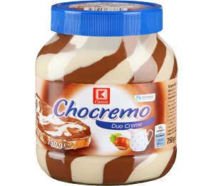 Abbildung des Angebots K-Classic Chocremo Duo-Creme