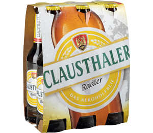 Abbildung des Angebots Clausthaler Radler oder Original